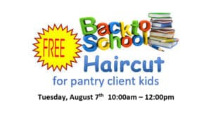 Back To School Haircuts @ Amazing Grace Food Pantry | Wylie | Texas | United States