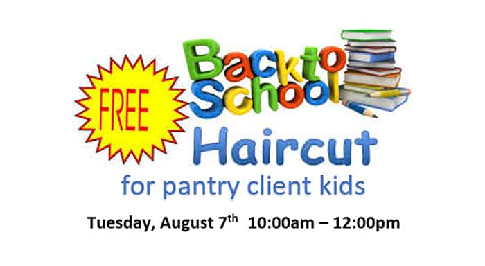 Back to School Free Haircuts