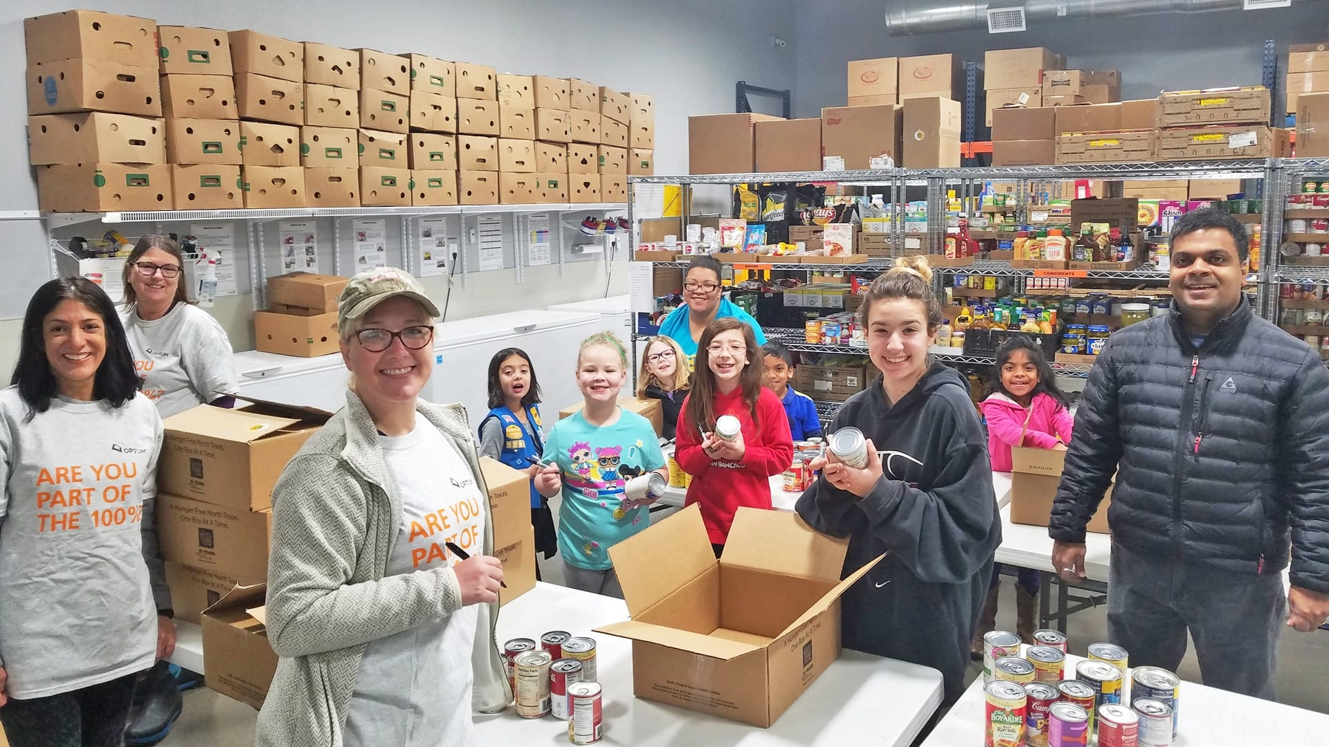 Optum Health and Girl Scout Troop 9283