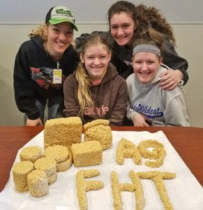 Rice Krispy Treats from Volunteer Teens