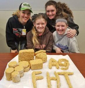 Rice Krispy Treats from Volunteer Teens