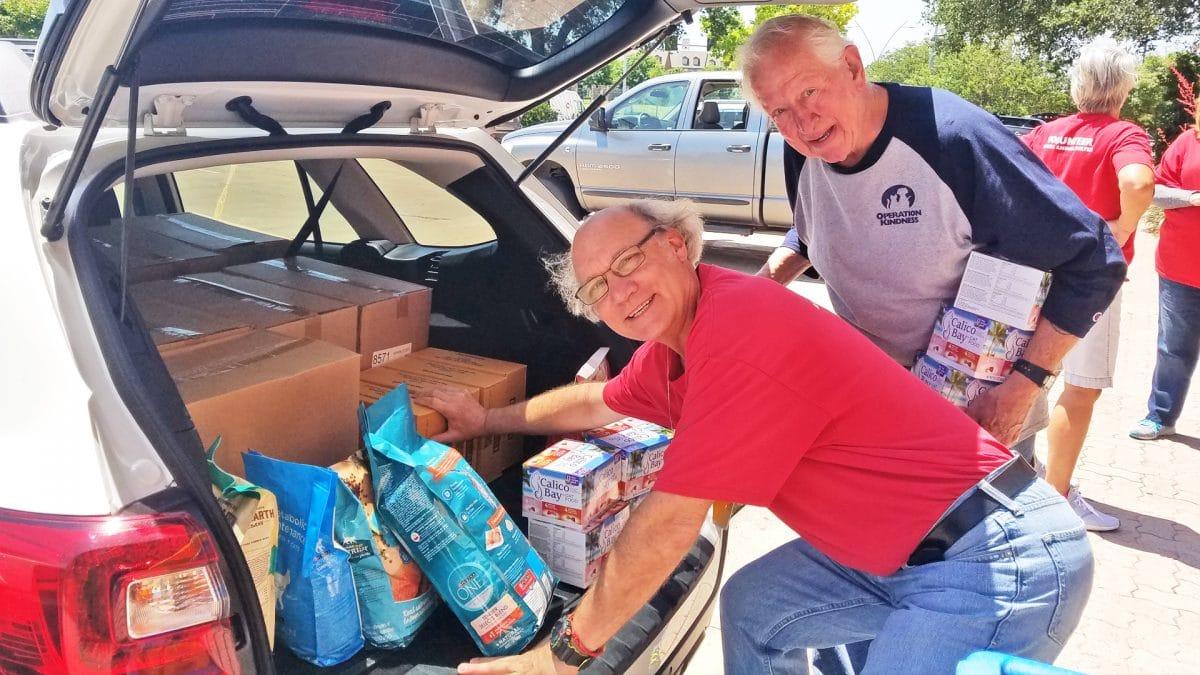 Operation Kindness Pet Food Donation