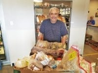Large families receive 150 pounds of food at the food pantry