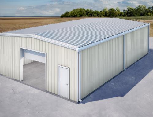 Rebuild the garage building