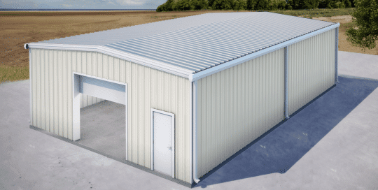 Pantry garage building