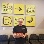 Rod volunteers at Amazing Grace Food Pantry every week