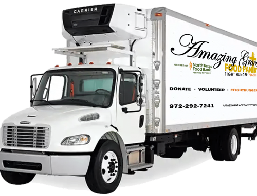 Refrigerated truck for food rescue