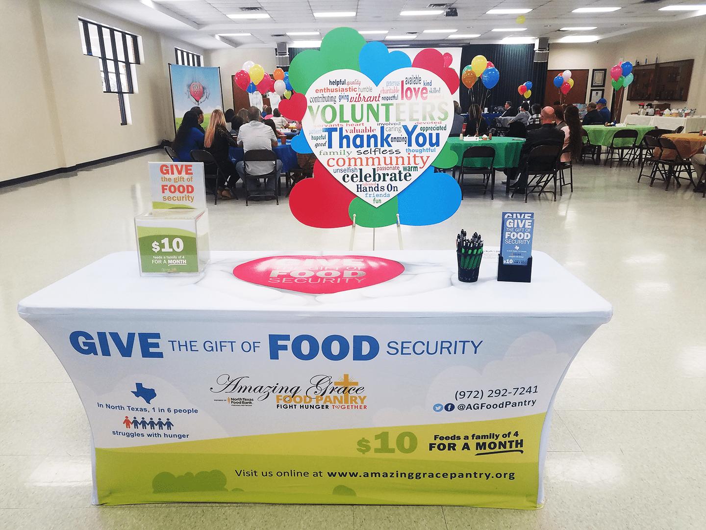 Amazing Grace Food Pantry Volunteer Appreciation 2020