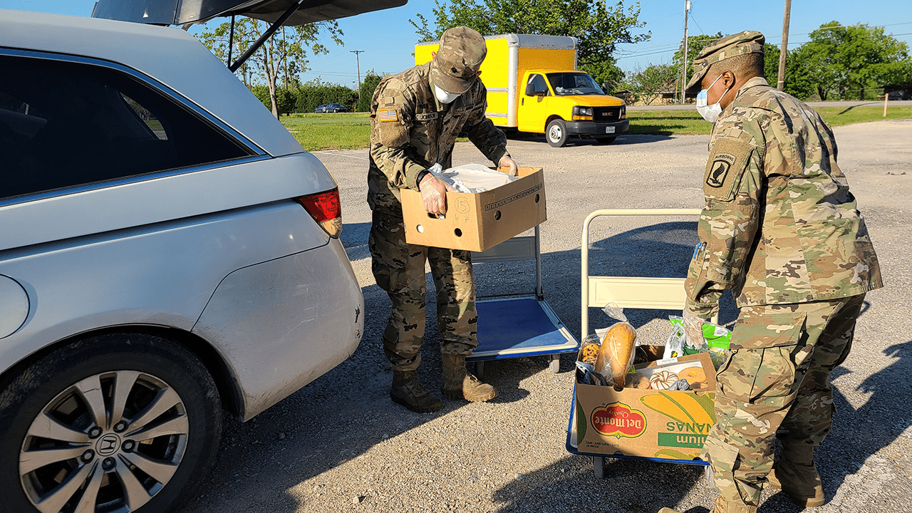 National Guard at AGFP