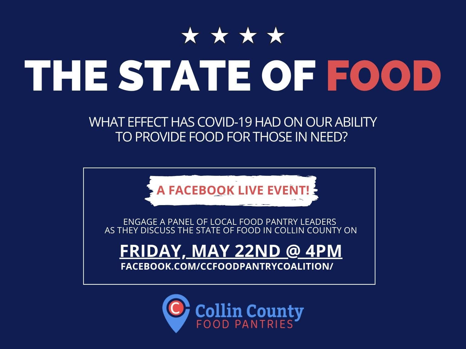 State of Food - A Facebook Live Event