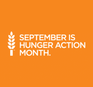 September is Hunger Action Month!